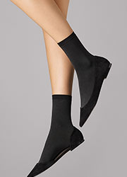 Wolford Velvet 66 Ankle Highs Zoom 1